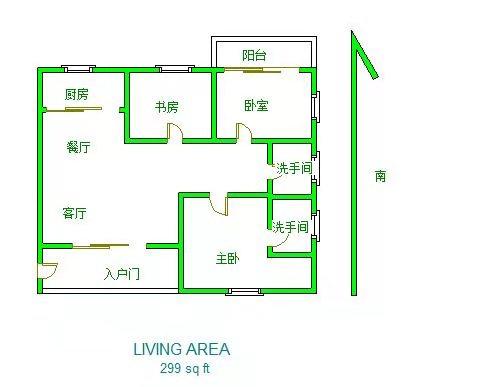海韵花都3室2厅2卫133.46平方78.50万